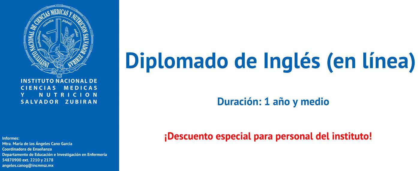 Diplomado de Inglés - en línea